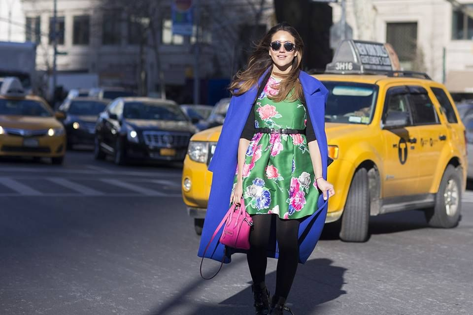 's that time of year again - show season is upon us and our Street Chic snapper has photographed the best real-life looks from the streets of New York