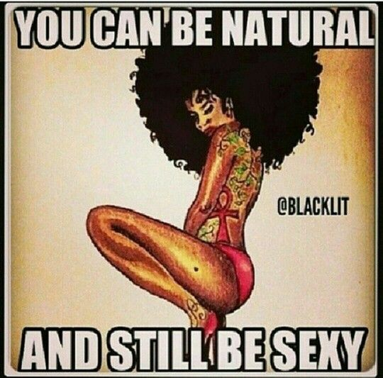 Natural girls are gorgeous