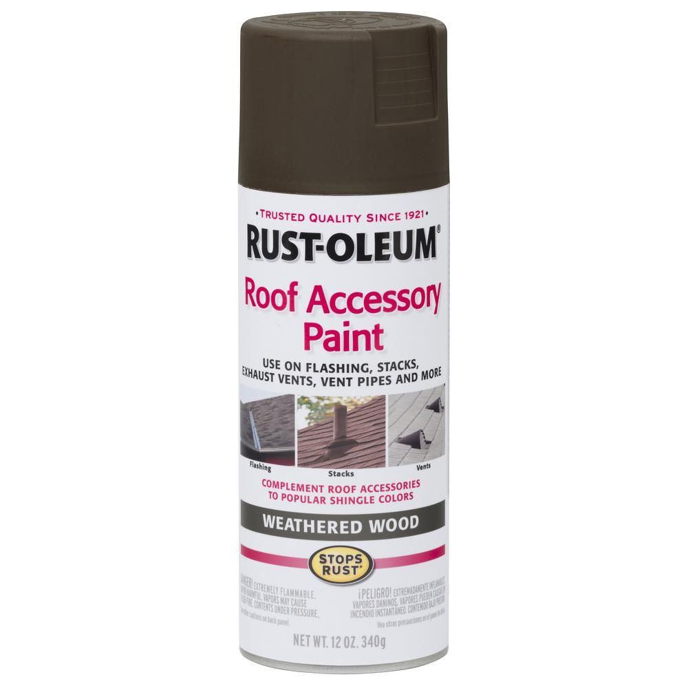 Best Rust Oleum Stops Rust 12 Oz Weathered Wood Roof Accessory 400 x 300