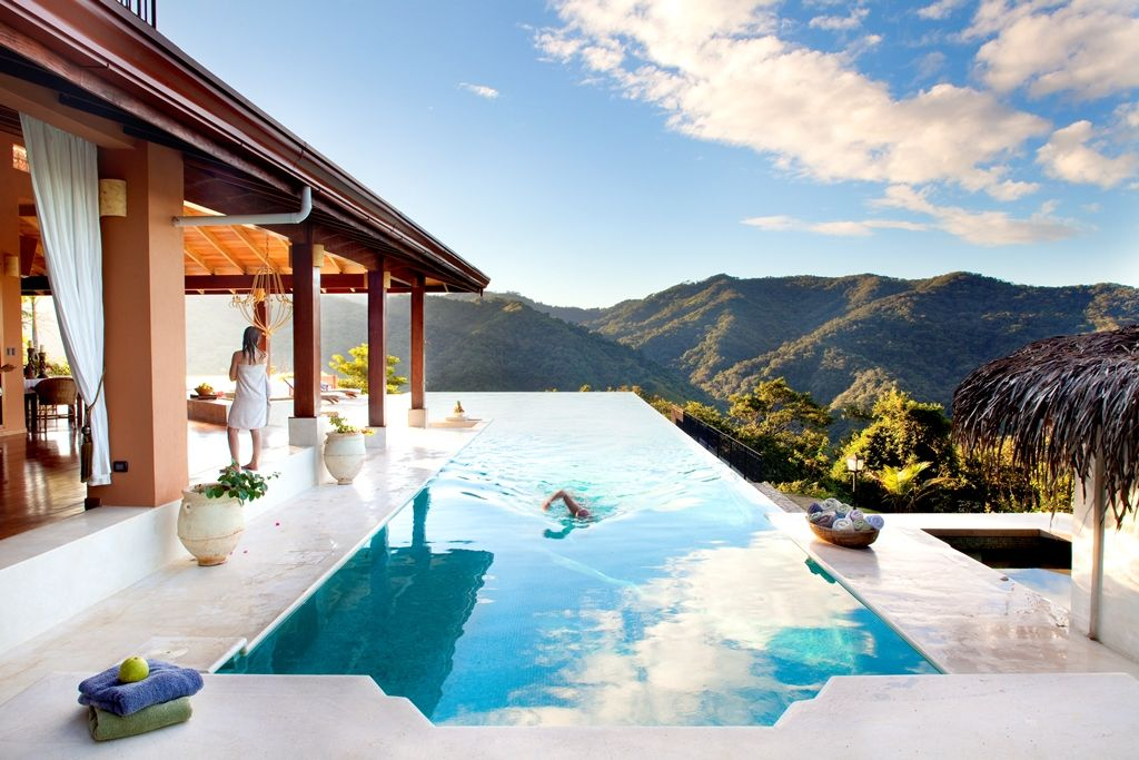 The ultimate pool views in Costa Rica.