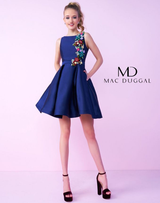 Interview Outfits A-LINE Natural short Blue,Multicoloured,Pink,Navy ...