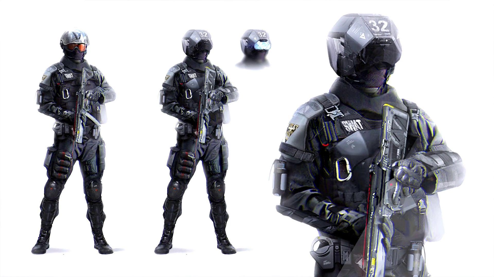 Image result for detroit human swat avec images
