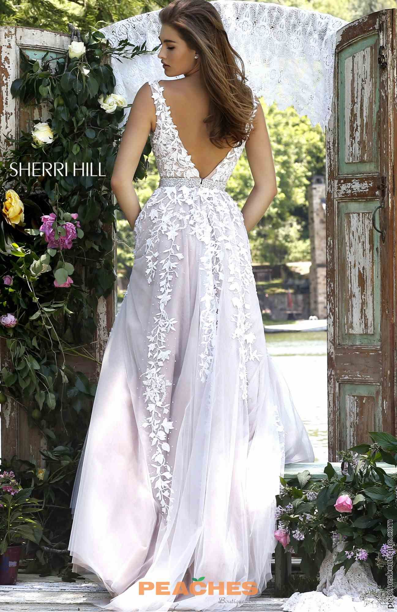 Sherri Hill V- Neckline A Line Dress 11335 | HOCO/Prom Dresses ...