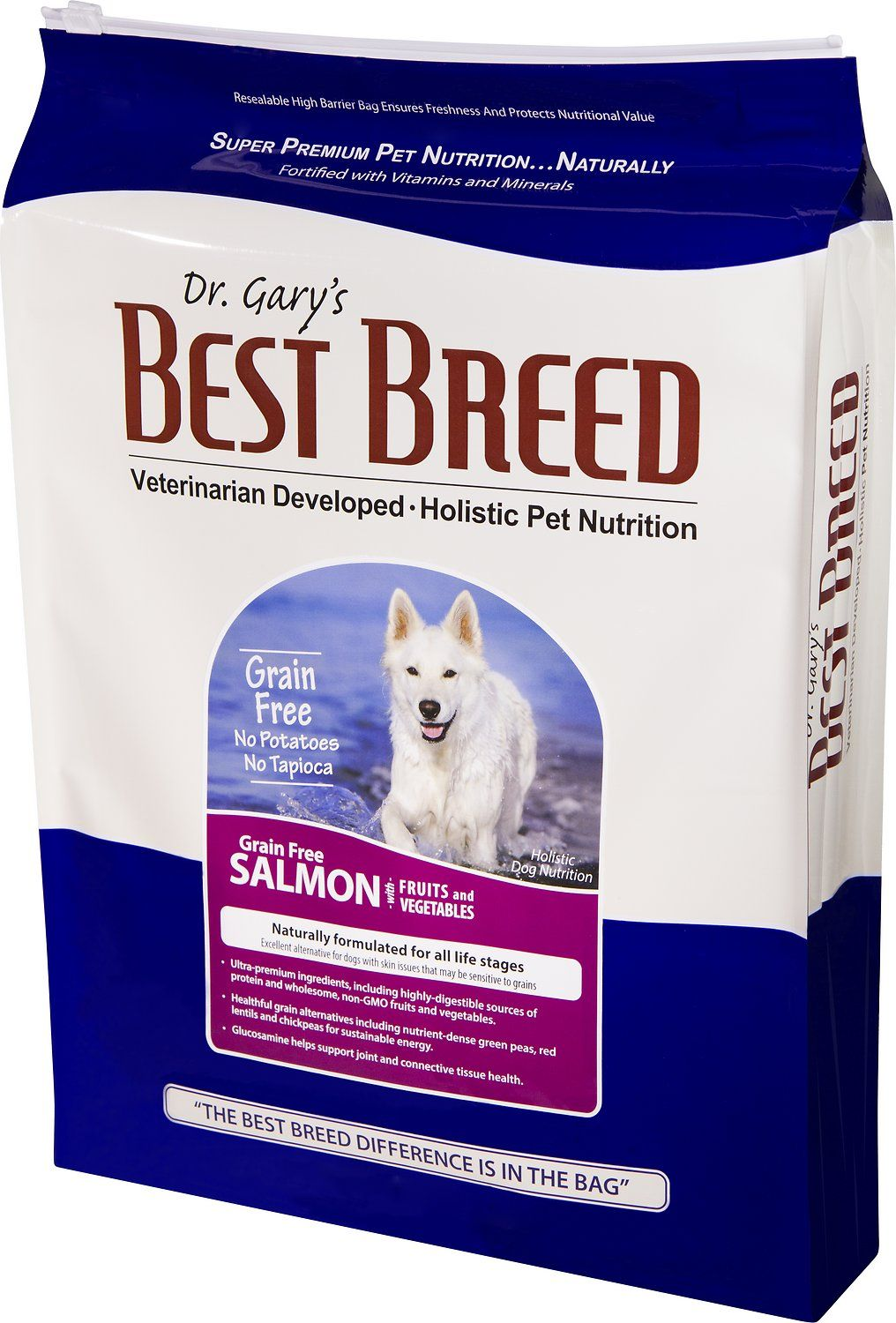 Dr Gary S Best Breed Holistic Grain Free Salmon With Fruits
