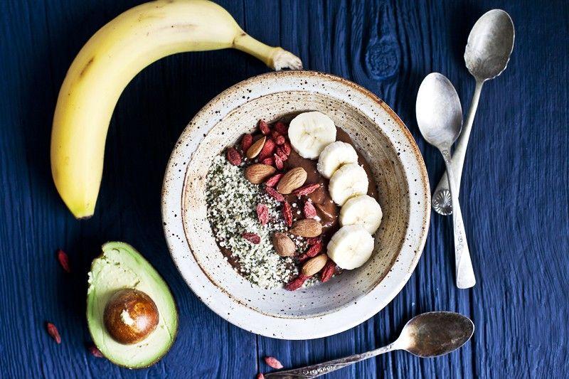 Recette de petit déjeuner : Avocat, banane
