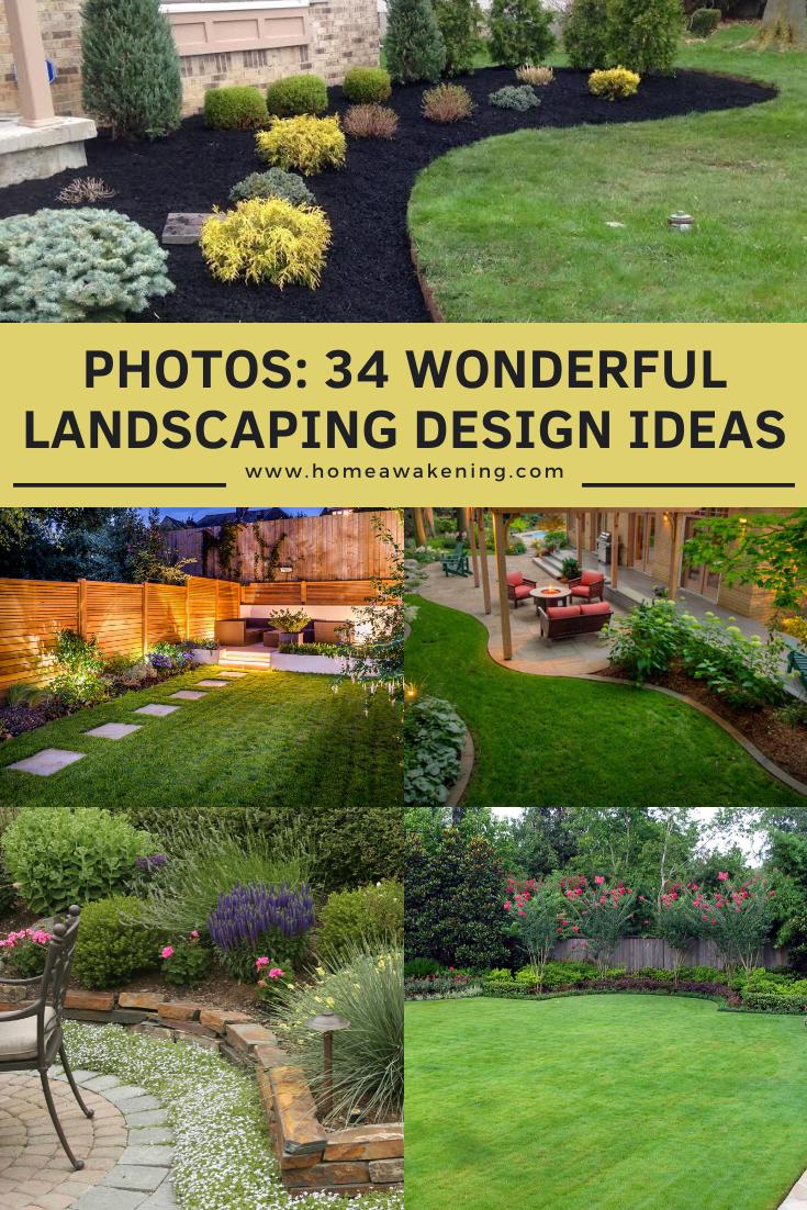 34 Wonderful Landscaping Design Ideas In 2020 Landscape Design