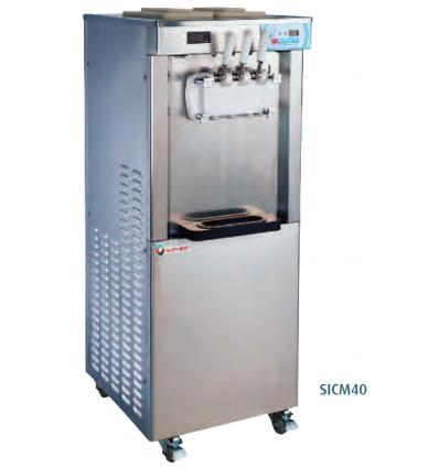 Machine A Glace Italienne Sur Roulettes Machine Soft 2 X 6 5 Litres Materiel Restauration Machine A Glace Equipement Cuisine Professionnelle