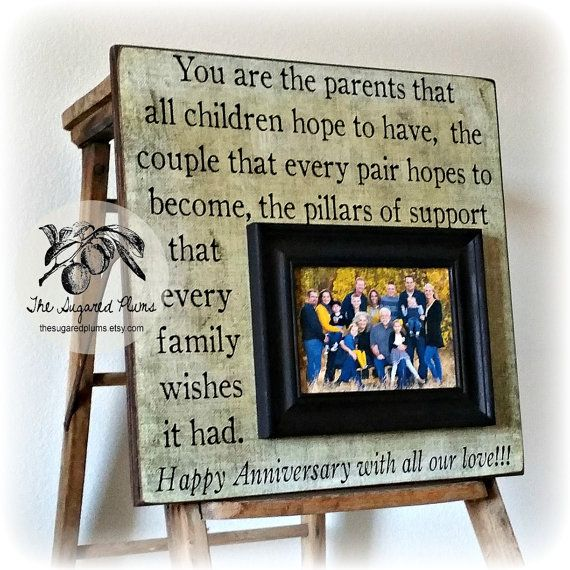Golden Wedding Gift Ideas For Parents: You Are The Parents ThatParents Anniversary Gift, 50th