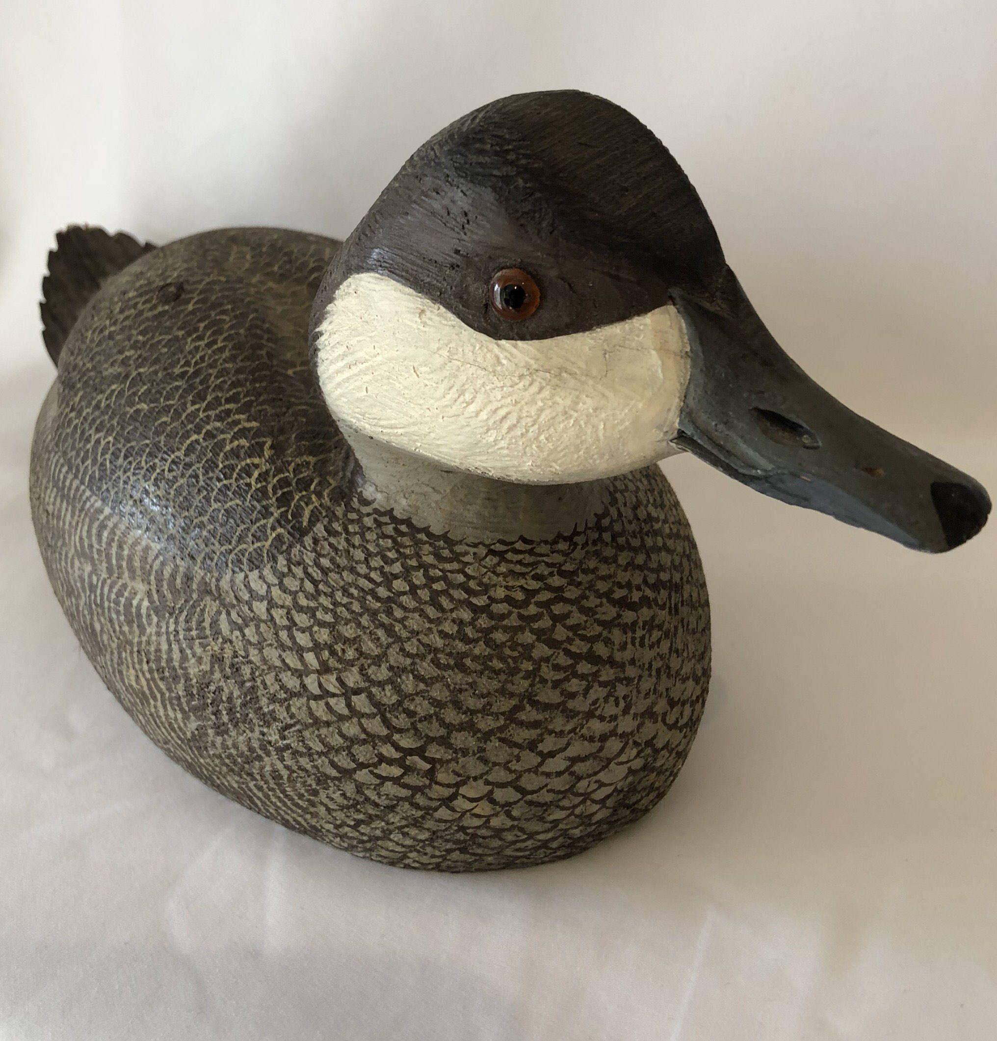 Vintage duck decoy by Ralph Malpage https://www.etsy.com/ca/listing ...