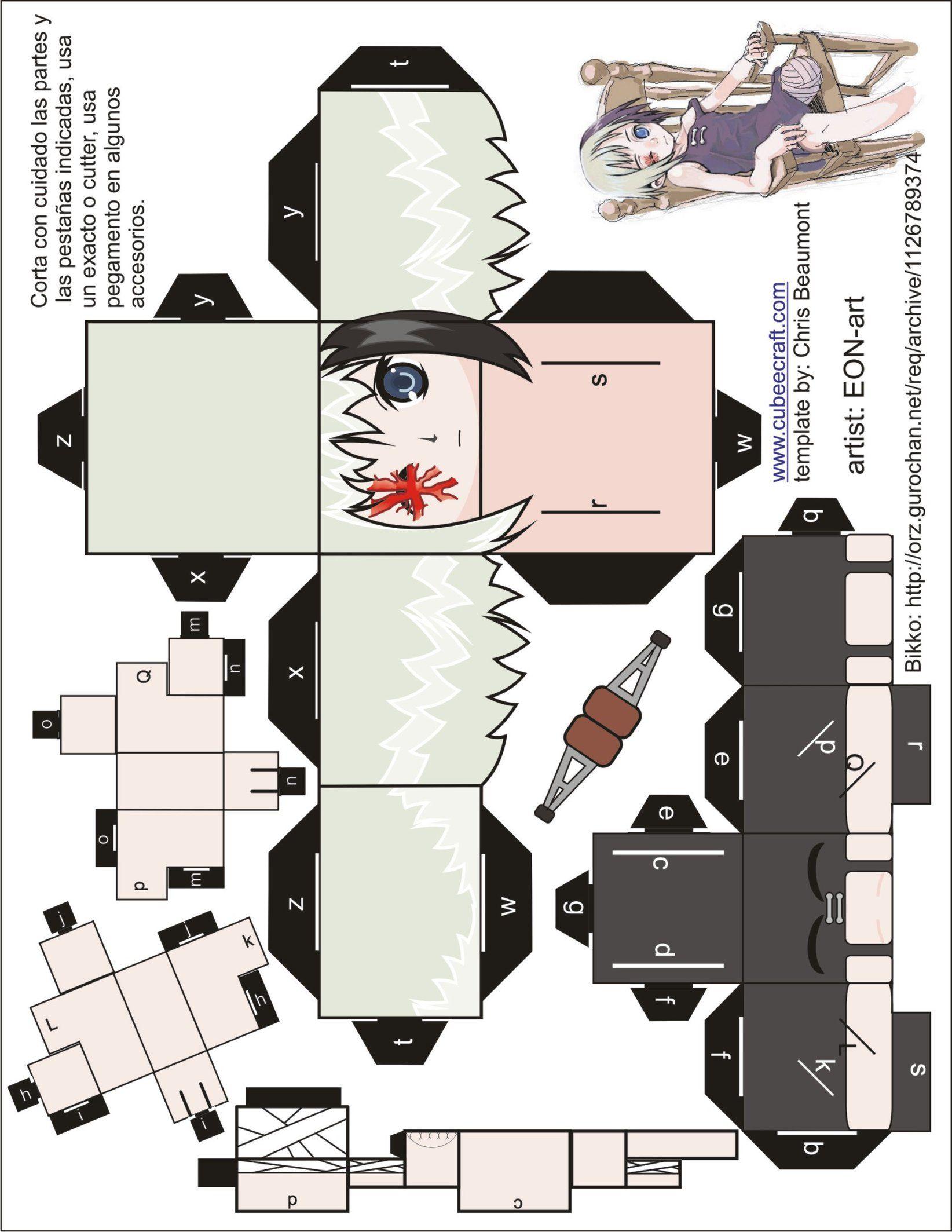 Gurochan Archives inside freddy krueger cubeecraft   paper modles   pinterest   gusto