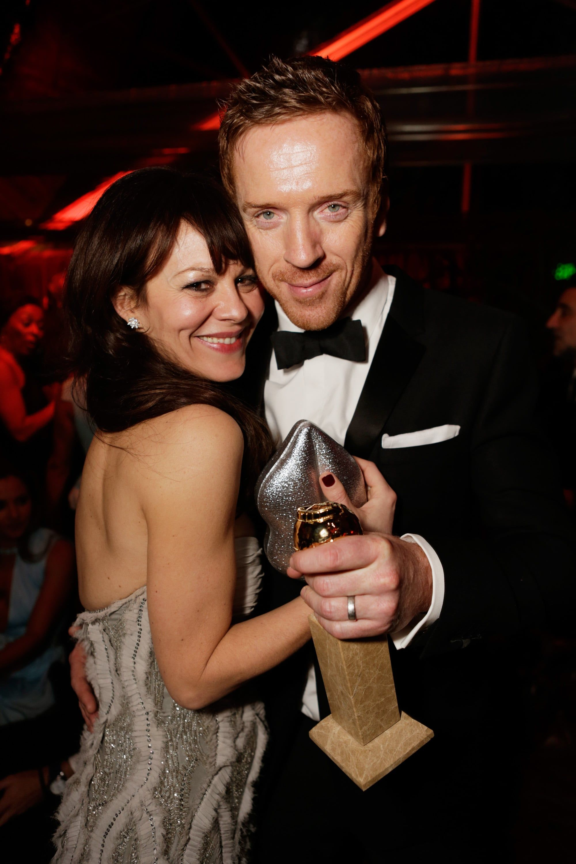 The 100 Best Pictures From Golden Globes Night Damian Lewis Celebrity Couples Celebrity Lifestyle
