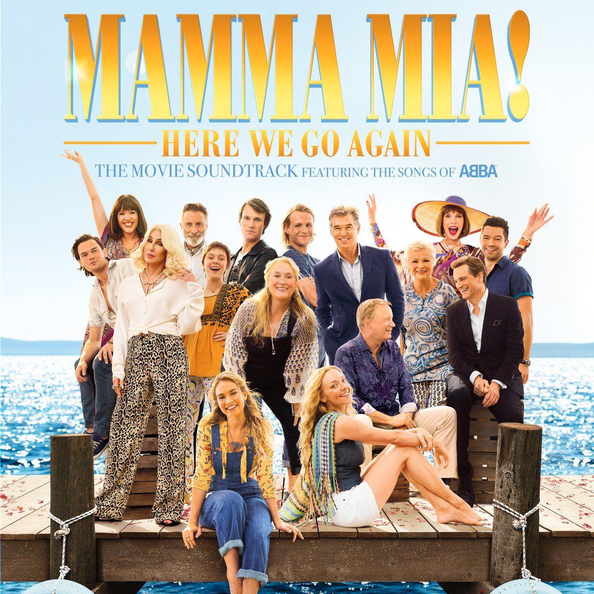 Mamma Mia Here We Go Again July 2018 Release Date Trailer