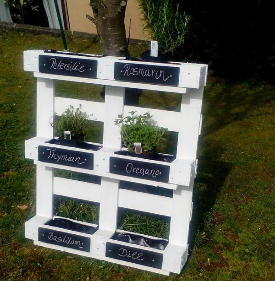 Pflanz Oder Gewürzregal » Sonstiges Für Den Garten, Balkon, Terrasse Aus  Roßtal