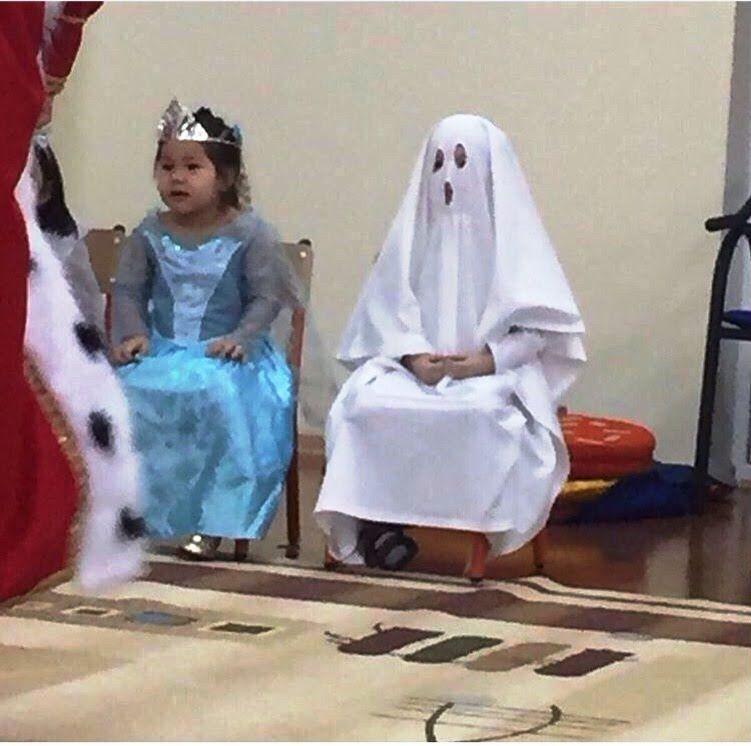 Костюм Приведения на утреннике. Ghost costume at children's matinee - 1 ...