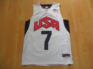 b4b9d3317c7b 2012 London Olympics Team USA Russell Westbrook  7 White Basketball Jersey   E969