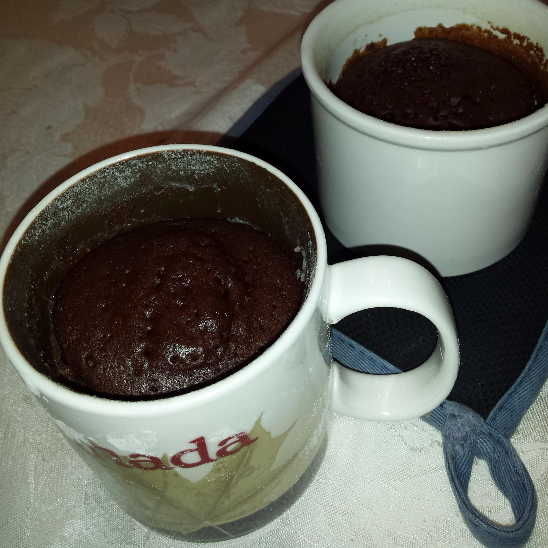 Chocolate mug cakes6 tablespoons allpurpose flour 3