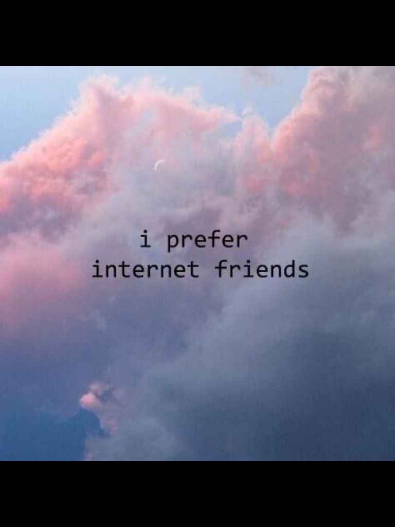 ☁️☁️☁️ (With images)   Internet friends quotes