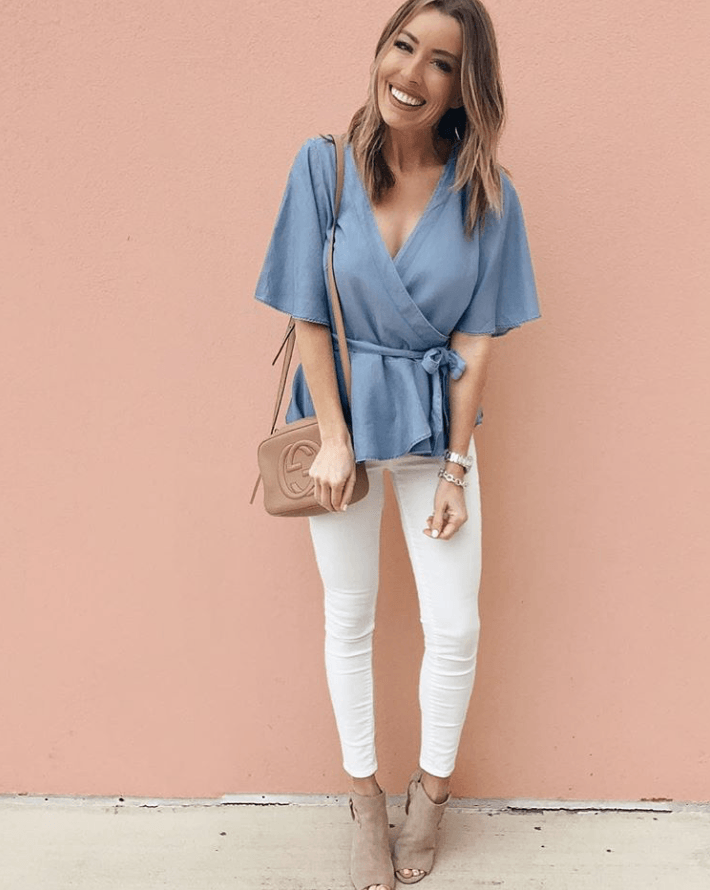 229b79b0f7 Denim Shirt Outfits To Look Stylish Forever