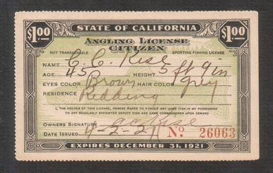 California Fishing Licenses - State of California Angling