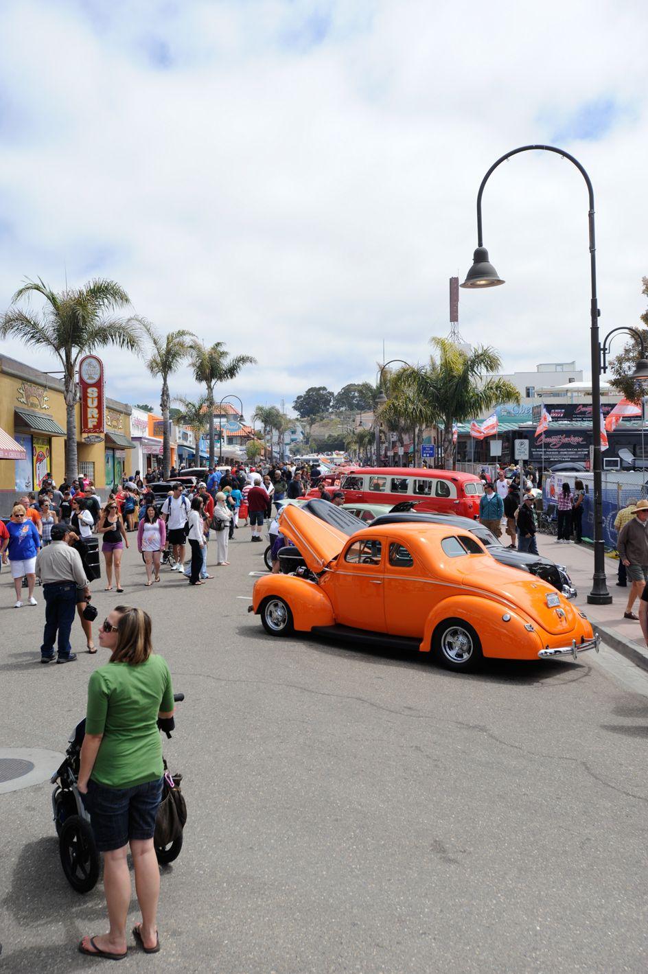 Pismo Beach Annual Classic Car Show The Classic Brings In - Classic car show pismo beach