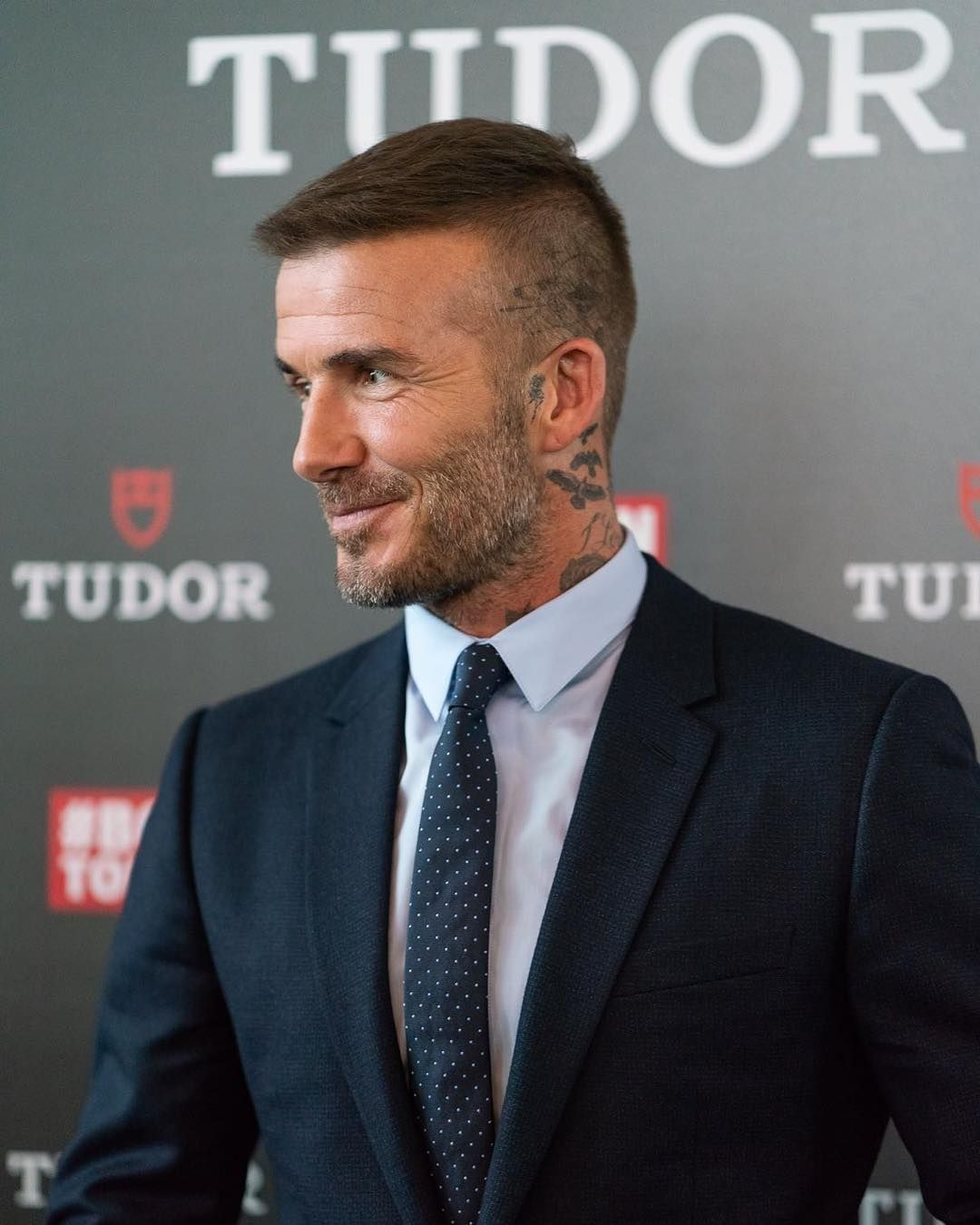 David Beckham Davidbeckham On Instagram Always A Pleasure To Be Back In Milan This Time Beckham Hair David Beckham Haircut David Beckham Hairstyle Short