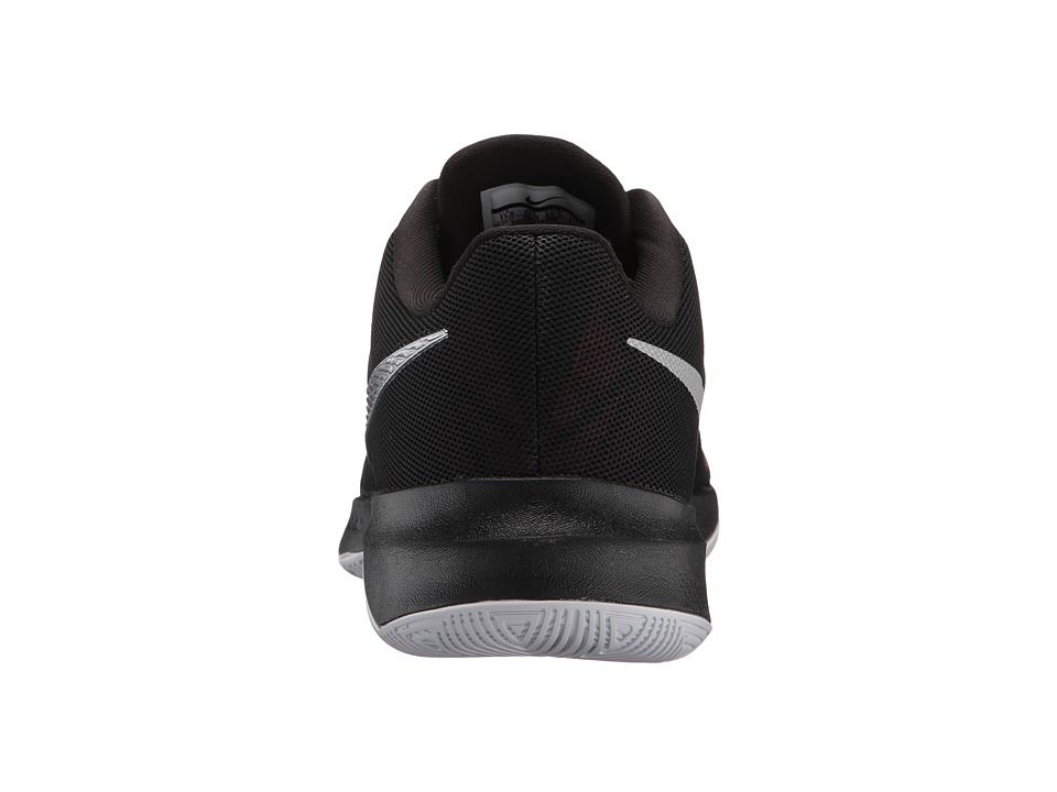 c51240f79bb Nike Zoom Evidence II Men s Basketball Shoes Black Metallic Silver University  Red