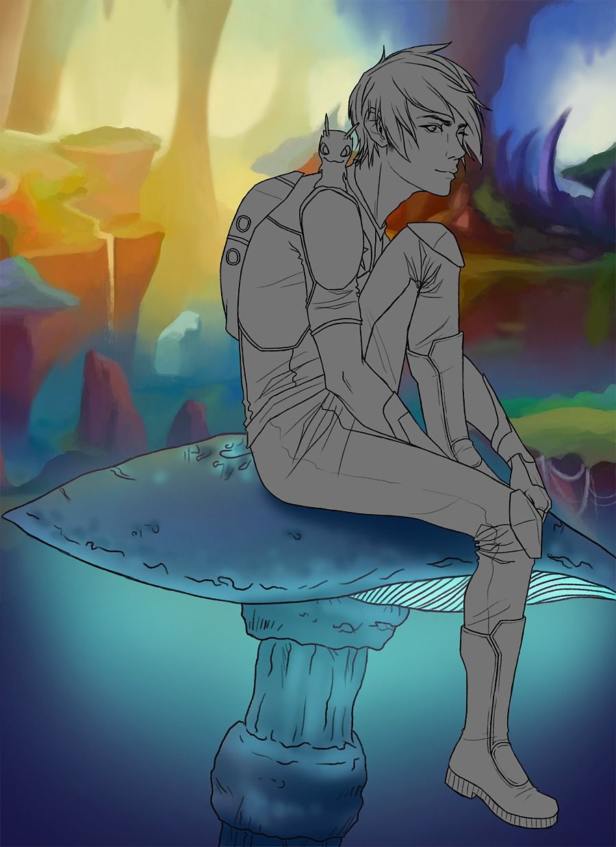 Eli Shane fan art   Art, Anime version, Fan art