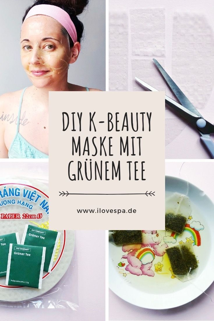 Photo of DIY Maske Grüner Tee & Reispapier – K-Beauty einfach selber machen
