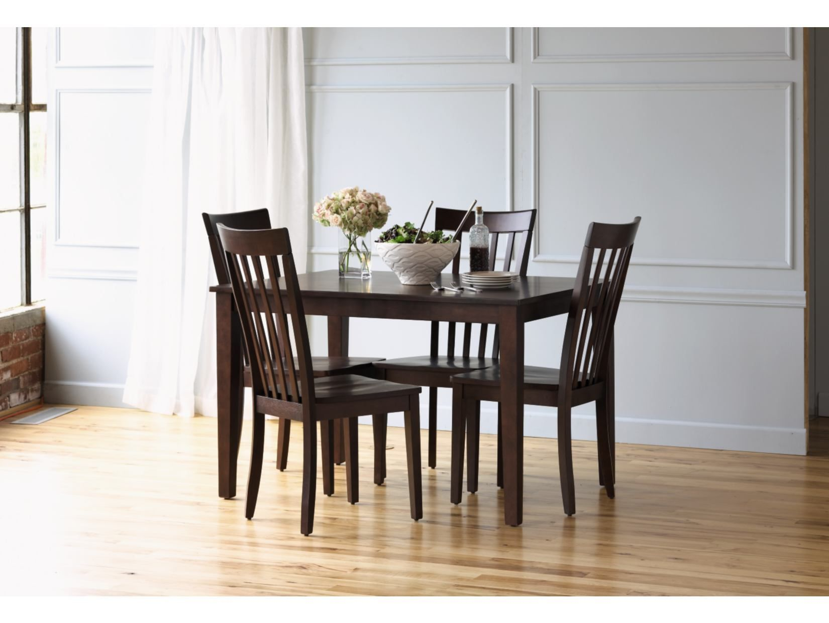 Arts & Crafts Chocolate Finish 5Pc Dining Set  Value City Unique Value City Kitchen Sets Inspiration