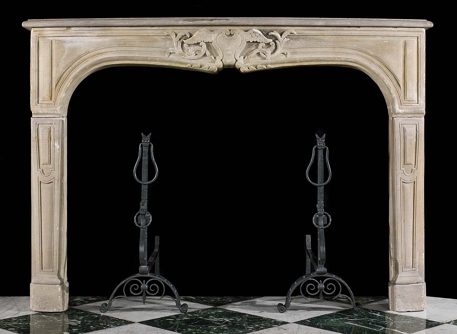 antique stone fireplace mantels. French Louis XV Antique Stone Fireplace Mantel  Victorian Homes
