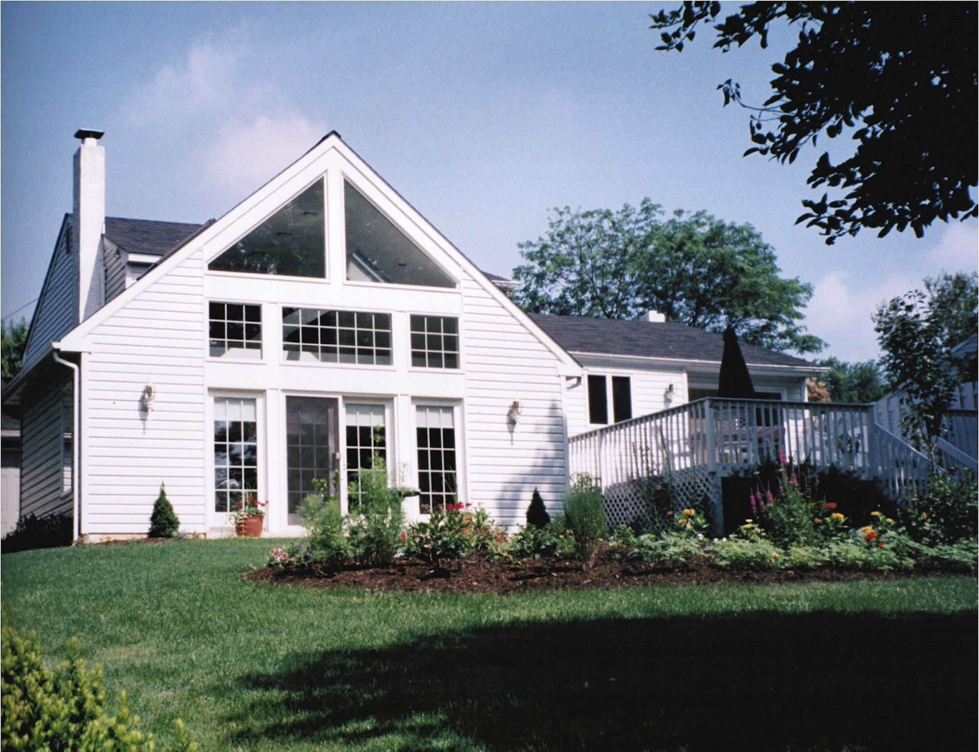 addition to cape cod style house