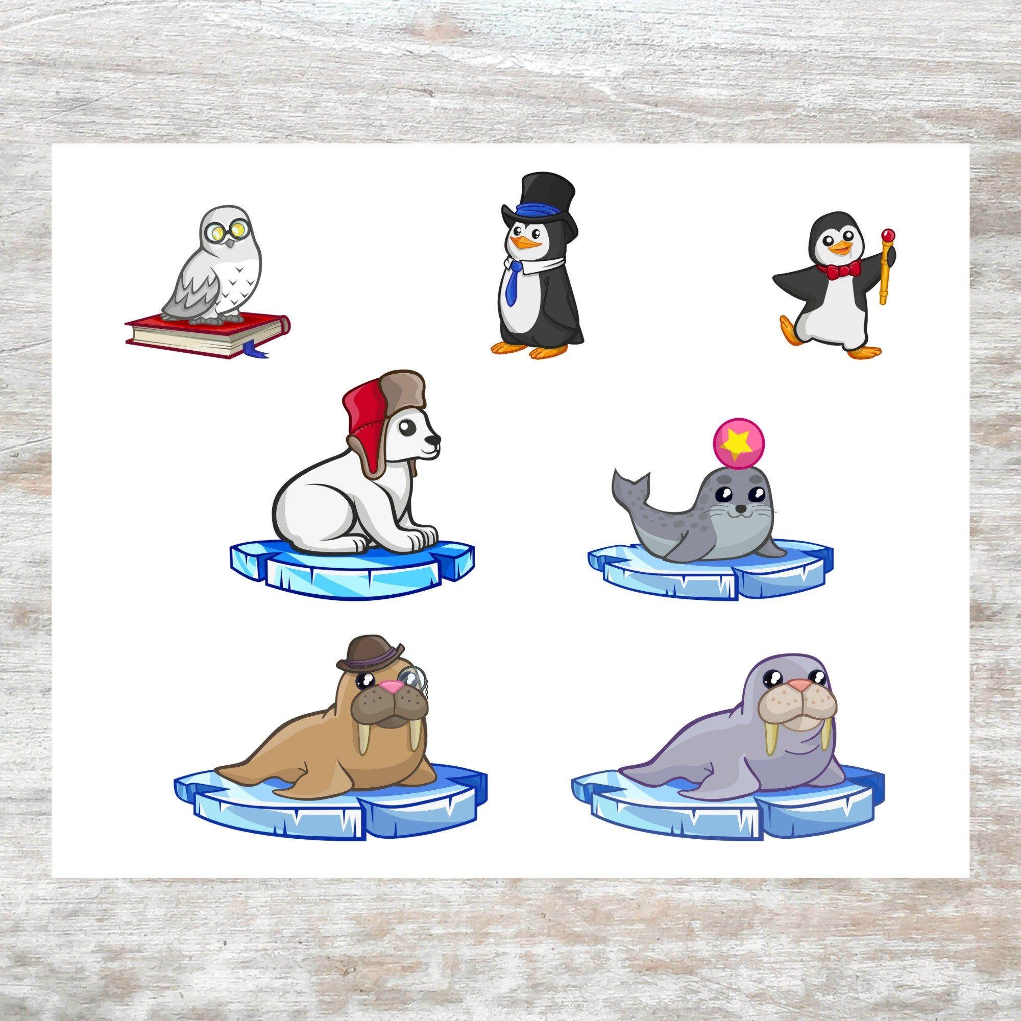 Cute North Pole Animals
