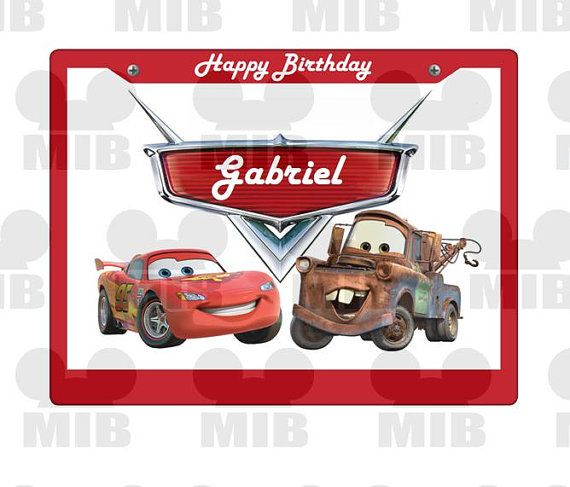 Lightswitch Covers Lightening McQueen Number of designs to choose from
