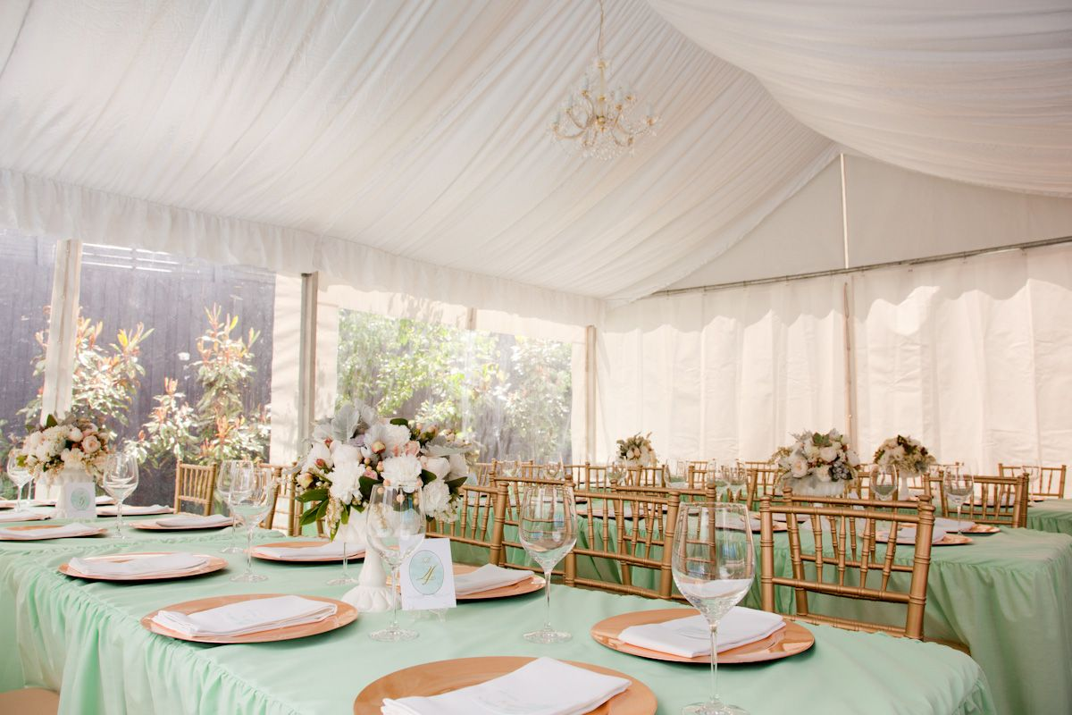 Christening Party by Little Sooti | Mint green, Wedding and Gold
