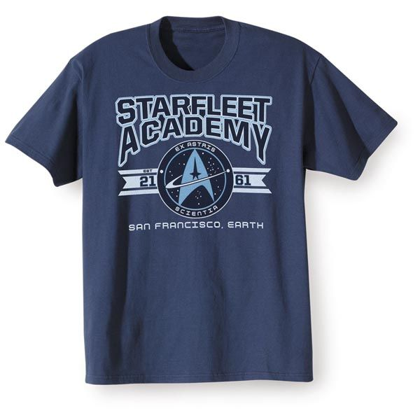 Star Trek Star Fleet Academy T-Shirt at What on Earth | VQ7652