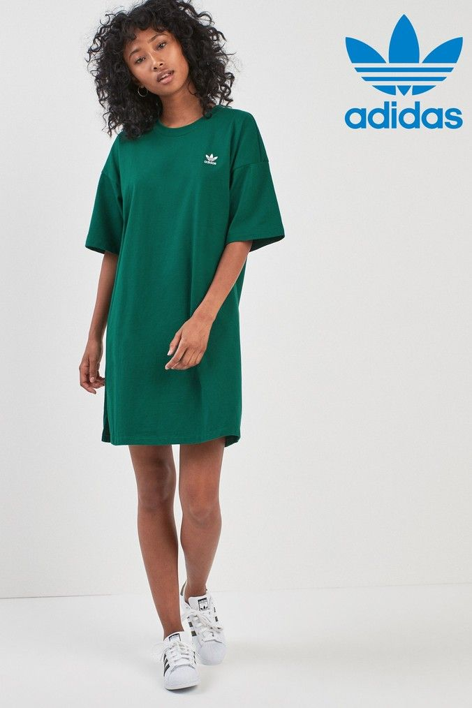 really comfortable cheap prices sale adidas Originals Trefoil Dress in 2019 | Dresses, Women's ...