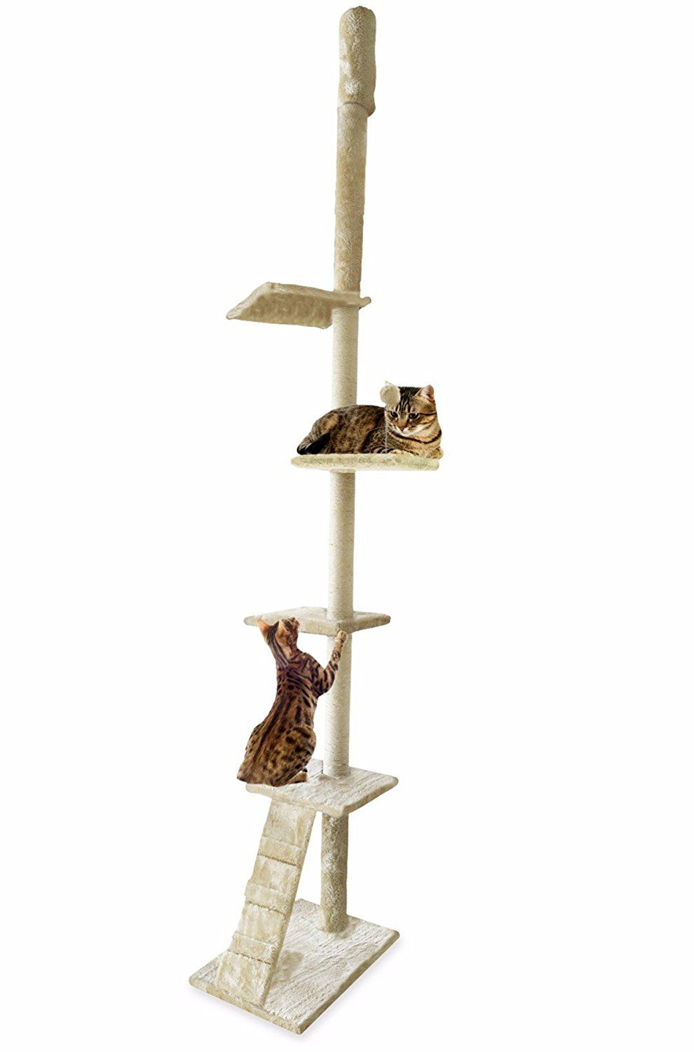 Furhaven Tiger Tough 33 Styles Of Scratching Posts And Cat Tree House Furniture Condos For Cats And Kittens Be S Cat Tree House Cat Litter Furniture Furhaven