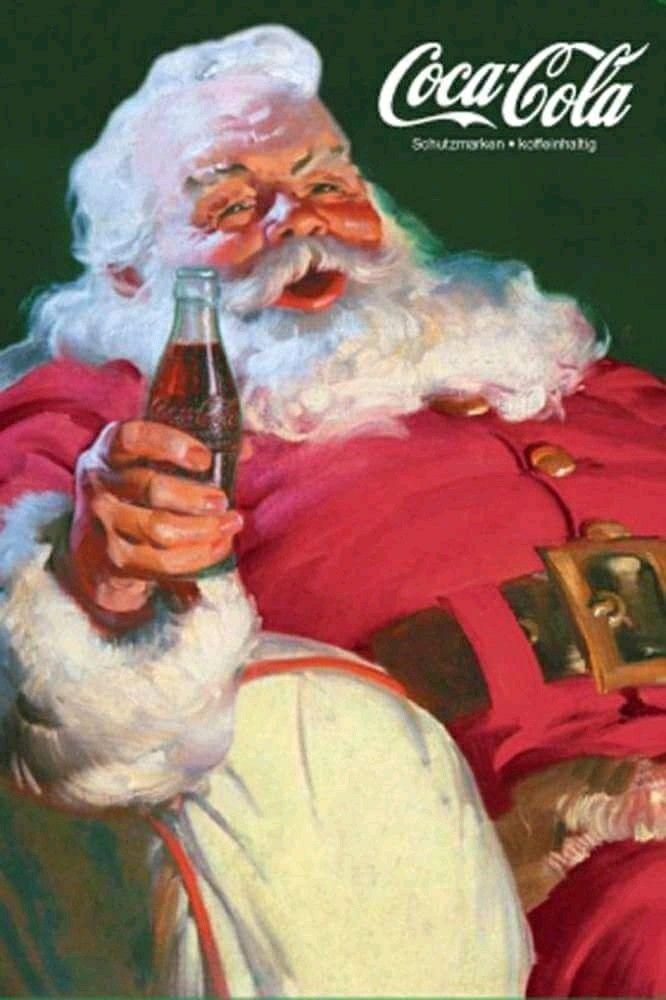 Coca Cola Babbo Natale.Pin On Christmas Time