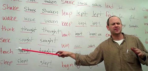 Des Cours D Anglais Version Rap Cours Anglais Rap Verbes Irreguliers
