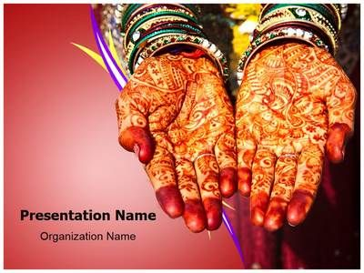 Mehndi Hands Powerpoint : Check out our professionally designed henna mehndi ppt template