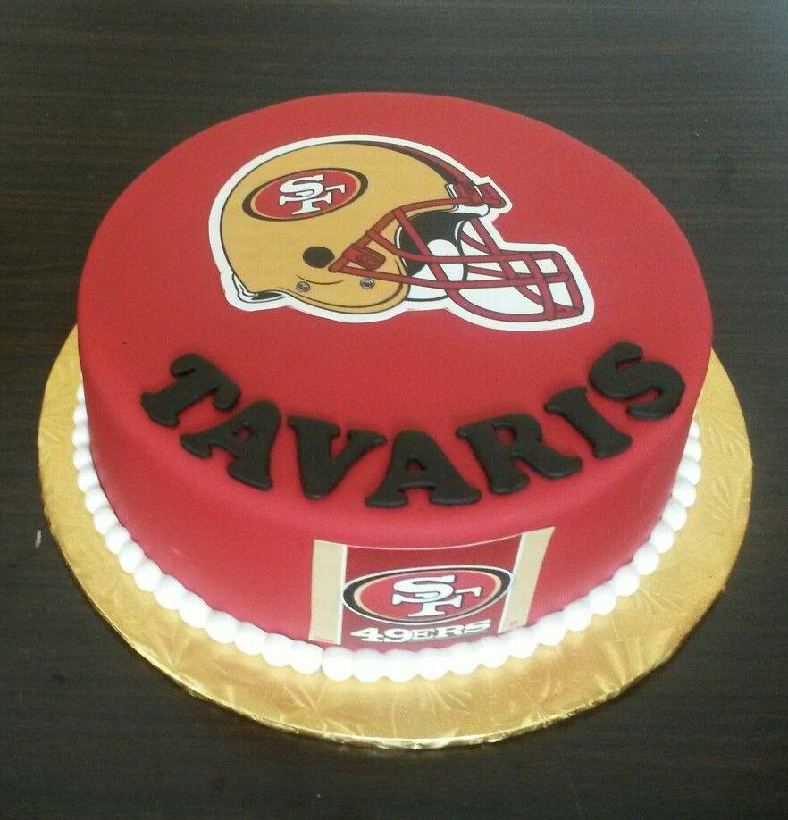 San Francisco 49ers Cake 45th Birthday Cake With Heel