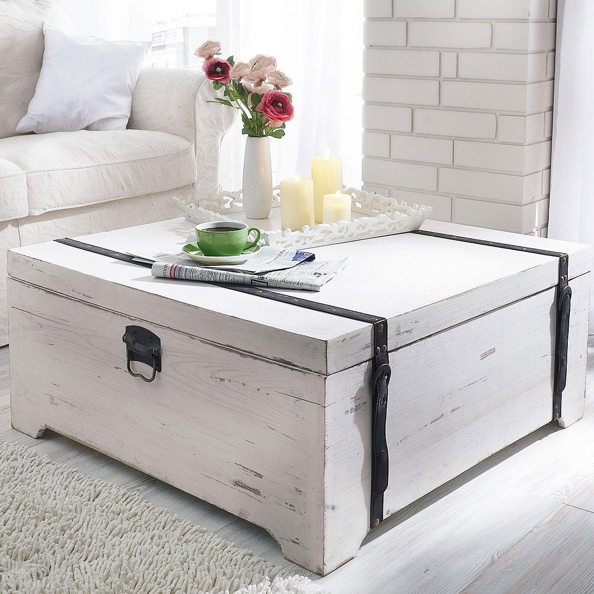 couchtisch truhe white von liamare living pinterest couchtisch truhe truhe und couchtische. Black Bedroom Furniture Sets. Home Design Ideas