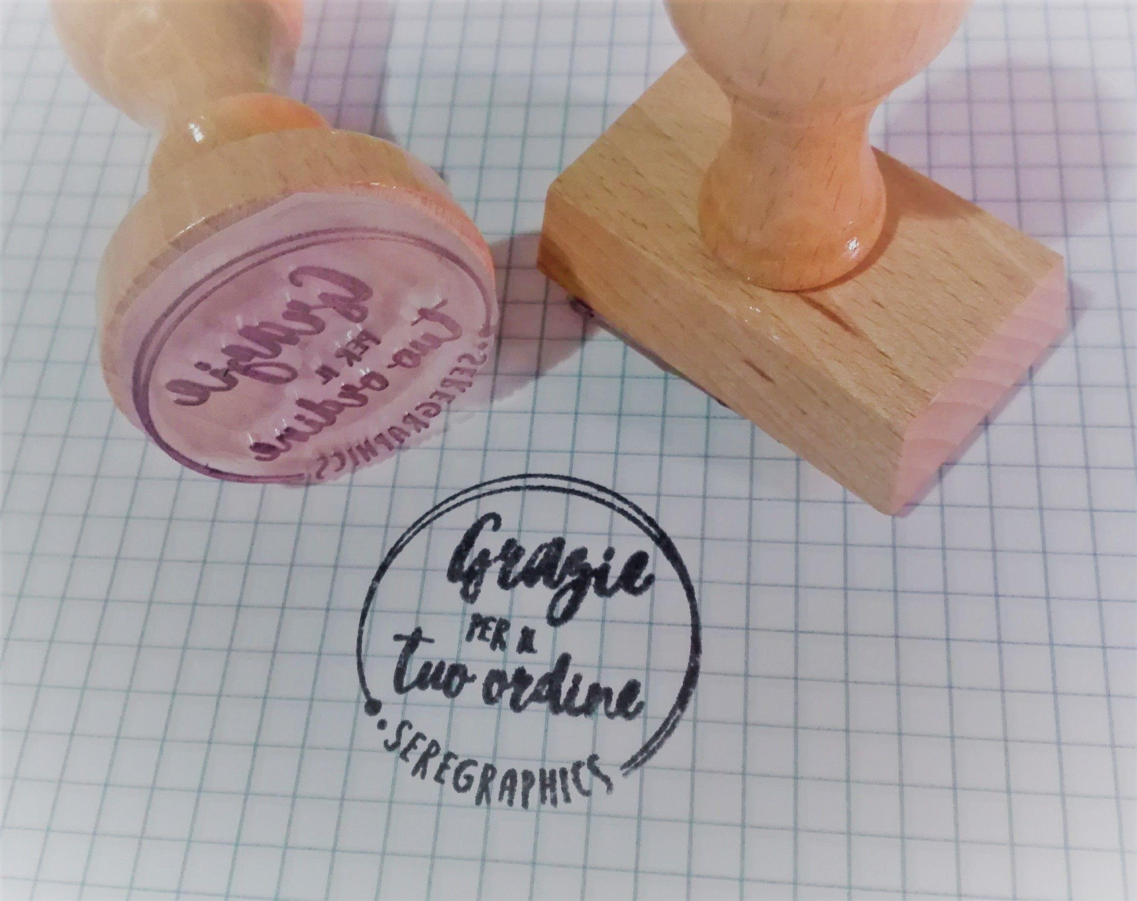 Timbri Personalizzati Per Stoffa timbri personalizzati per ogni occasione di varie grandezze