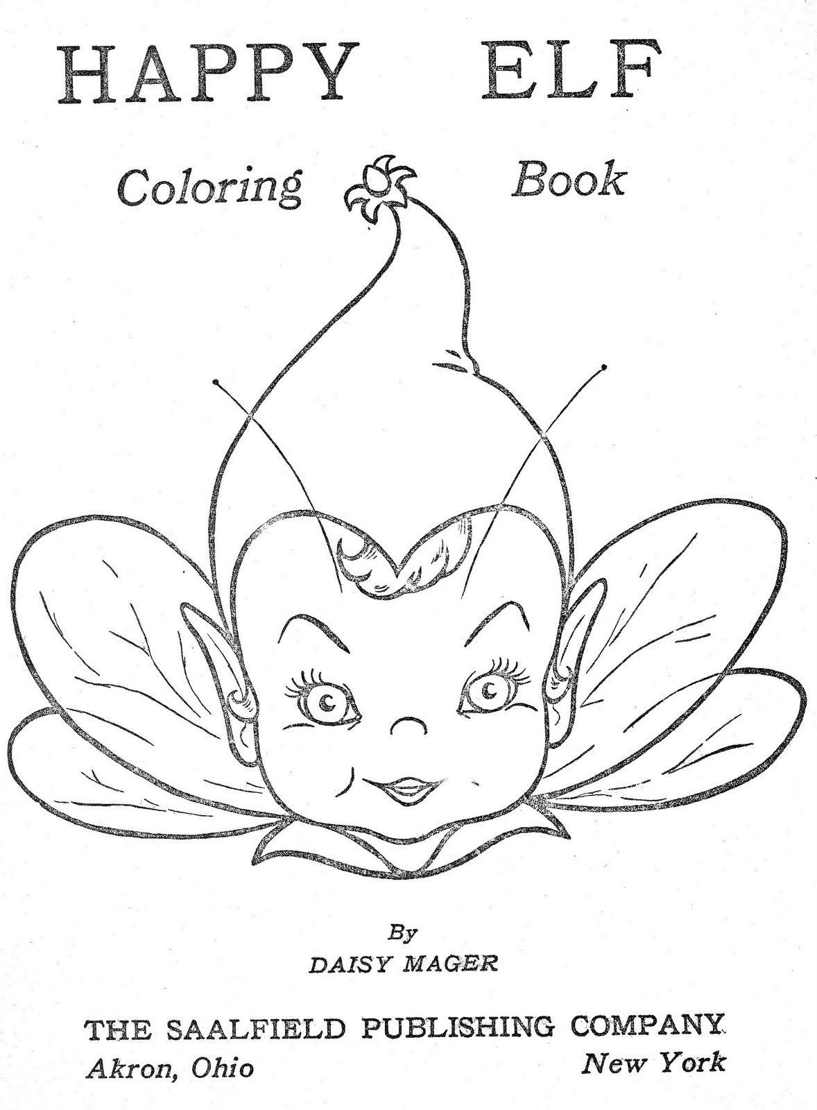Desenhos para Colorir: Happy Elf | Little Charmers | Pinterest | Gnomo