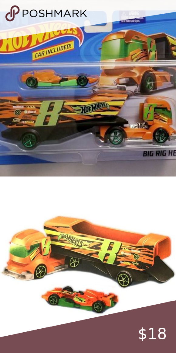 Hot Wheels Big Rig Heat Truck Car Included Hot Wheels Hot Wheels Cars Toys Hot Wheels Toys