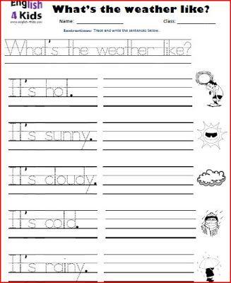 INGLES PARA NIÑOS (FICHAS) | Classroom | Pinterest | Para niños ...
