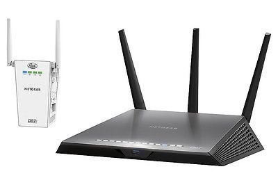 Netgear nighthawk dst ac1900 wireless ac gigabit router wdst netgear refurbished nighthawk dst dual band wi fi router with dst adapter dual band ac technology with transfer rates up to easy setup with netgear genie keyboard keysfo Image collections