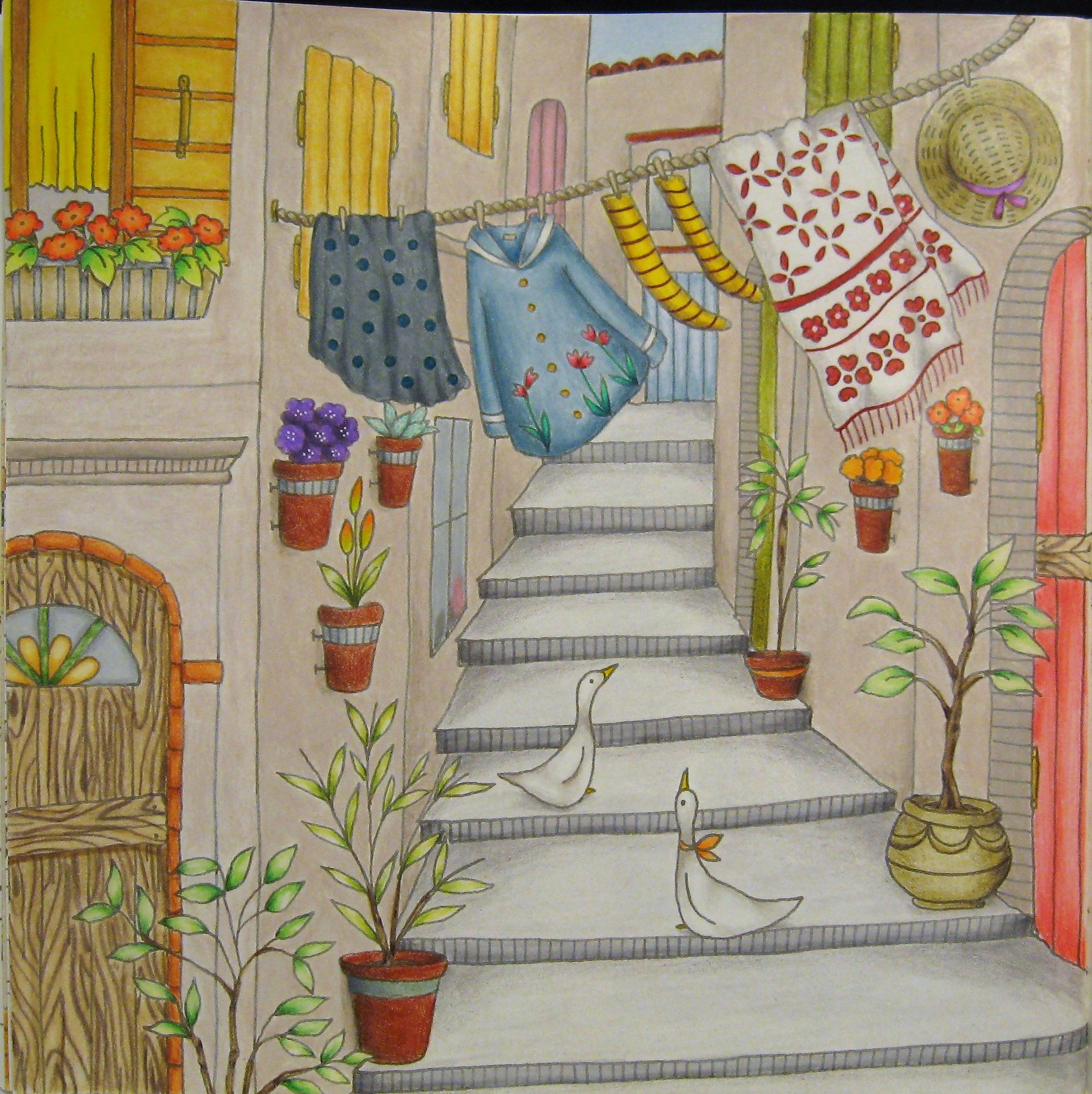 From Romantic Country Coloring Book By Eriy