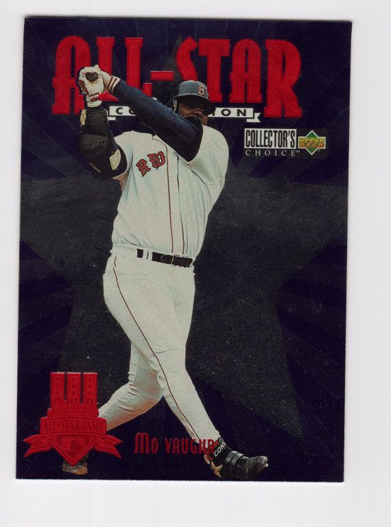 Mo Vaughn 1997 Upper Deck Collectors Choice All Star Foil Insert