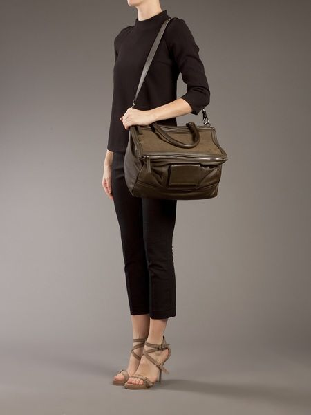 Givenchy Pandora Bag in Brown (khaki) - Lyst   Givenchy Pandora Bag ... cde6bbec20